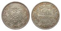 50 Pfennig 1898 A Kaiserreich  vorzüglich  325,00 EUR kostenloser Versand