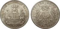 5 Mark Hamburg 1903 J Kaiserreich  kl. Kratzer, fast Stempelglanz  345,00 EUR kostenloser Versand