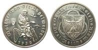 3 Mark Vogelweide 1930 D Weimarer Republik  wz. Haarlinien, polierte Pl... 325,00 EUR kostenloser Versand
