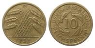 10 Pfennig 1932 G Weimarer Republik  kl. Randfehler, besser als sehr sc... 995,00 EUR kostenloser Versand