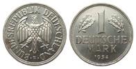 1 DM 1954 F Bundesrepublik Deutschland  wz. Fleck, wz. Kratzer, fast St... 650,00 EUR