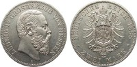 2 Mark Hessen 1888 A Kaiserreich  gutes vorzüglich  3950,00 EUR kostenloser Versand