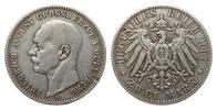 2 Mark Oldenburg 1901 A Kaiserreich  kl. Druckstelle am Rand, sehr schön  295,00 EUR kostenloser Versand