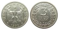 3 Mark Kursmünze 1932 F Weimarer Republik  kl. Randfehler, knapp vorzüg... 595,00 EUR kostenloser Versand