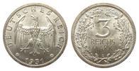 3 Mark Kursmünze 1931 E Weimarer Republik  min. Rf., Adlerseite Kratzsp... 395,00 EUR kostenloser Versand