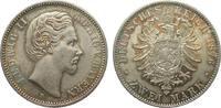 2 Mark Bayern 1876 D Kaiserreich  gutes vorzüglich  345,00 EUR kostenloser Versand
