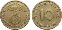 10 Pfennig 1936 G Drittes Reich  Wertseite Kratzer, sonst ss+  285,00 EUR kostenloser Versand