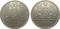 5 Gulden Danzig 1923 Kolonien und Nebengebiete  wz. Randfehler, sehr sc... 295,00 EUR kostenloser Versand