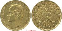 10 Mark 1896 Bayern Bayern  Otto 1886 - 1913 vorzüglich  245,00 EUR  zzgl. 5,00 EUR Versand