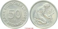 50 Pfennig 1949 BRD BRD Bankfrisch  20,00 EUR  zzgl. 5,00 EUR Versand