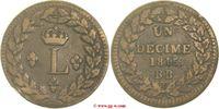 Un Décime 1815 Frankreich Frankreich  Napoléon I. 1815 - sehr schön  25,00 EUR  zzgl. 5,00 EUR Versand