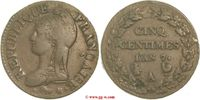 5 Centimes AN 7 Frankreich Frankreich  Directoire 1795 - 1799 sehr schön  35,00 EUR  zzgl. 5,00 EUR Versand