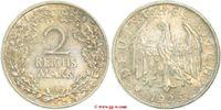 2 Reichsmark 1925   vorzüglich  85,00 EUR  zzgl. 5,00 EUR Versand