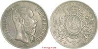 1 Peso 1867 Mexiko Mexiko  Maximilian 1864 - 1867 sehr schön  150,00 EUR  zzgl. 5,00 EUR Versand