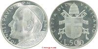 500 Lire 1979 Vatikan Vatikan  Johannes Paul II. 1978 - 2005 Stempelglanz  25,00 EUR  zzgl. 5,00 EUR Versand