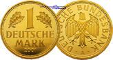 1 Mark 12,00g fein 23 mm Ø 2001F  Deutschl...