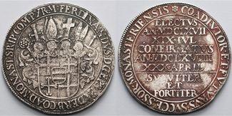 Paderborn, Bistum Reichstaler 1668  Von gr...