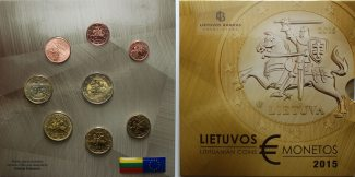 Litauen 3,88 € 2015  stgl. im Blister 1. a...