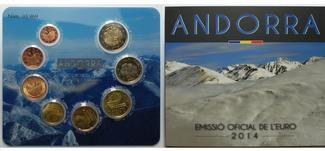 3,88 € 2014  Andorra Neujahrsangebot !  1....