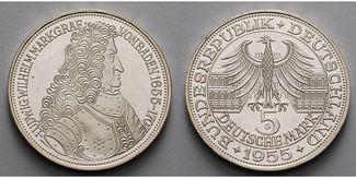 5 DM 1955  Deutschland, Bundesrepublik Mar...
