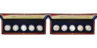 5 DM x 5 Münzen 1952-1964  Deutschland, Bu...