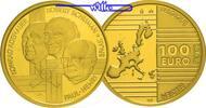 100 Euro, 15,53g fein29 mm Ø 2002 Belgien Väter Europas Adenauer,Schuma... 825,00 EUR kostenloser Versand