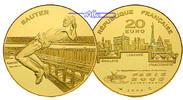 20 Euro, 15,64g fein31 mm Ø 2003 Frankreich Leichtathletik-WM Hochsprun... 895,00 EUR kostenloser Versand