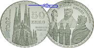 50 Euro 2002 Spanien Gaudi, Familia La Grada, inkl. Etui & Zertifikat &... 420,00 EUR  + 17,00 EUR frais d'envoi