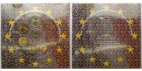3,88 2001 Frankreich Kursmünzensatz stglimBlister  75,00 EUR  + 17,00 EUR frais d'envoi