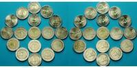 2 Euro x 17 Münzen 2007 Euroländer 50 Jahre Römische Verträge, Komplett... 84,50 EUR  zzgl. 5,00 EUR Versand