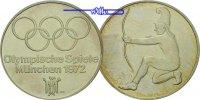 1972 München Deutschland Silbermedaille zu Olympiade München 1972 (Bog... 98,00 EUR  + 17,00 EUR frais d'envoi