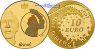 10 Euro, 7,78g fein22 mm Ø 2007 Frankreich Tim und Struppi  1/4 Unze Go... 650,00 EUR  + 23,00 EUR frais d'envoi