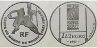 1 1/2 Euro 2007 Frankreich Rugby Weltmeisterschaft 2007 Silber, inkl. E... 34,90 EUR  + 17,00 EUR frais d'envoi