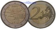 2 Euro 2007 Finnland 90 Jahre Unabhängigkeit im Etui PP  14,95 EUR  zzgl. 3,95 EUR Versand