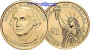 USA 1 $ 2007 D vz George Washington 2007 D / Kupfer-Nickel / Neue Serie 3,50 EUR