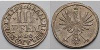 3 Pfennig 1706 H.L.O. Rietberg, Grafschaft, seit 1764 Fürstentum Maximi... 229,00 EUR  + 17,00 EUR frais d'envoi