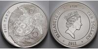 10 $ Fiji5 oz. 2011 Fidschi Fiji Taku Schildkröte, 1. Ausgabe, 999er Si... 249,50 EUR  + 17,00 EUR frais d'envoi