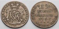1 1/2 Reichstaler 1765 Paderborn, Bistum Wilhelm Anton von der Asseburg... 85,00 EUR  + 17,00 EUR frais d'envoi