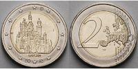 2 Euro 2012 F Deutschland Schloss Neuschwanstein in Bayern,Prägestätte ... 3,10 EUR  + 7,00 EUR frais d'envoi