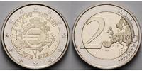 2 Euro 2012 Finnland 10 Jahre Euro Bargeld stgl  4,50 EUR  + 7,00 EUR frais d'envoi