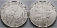 Somalia 10 $<br>1 oz<br>Ø 40 mm 2003 <b>st...