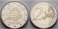 2 Euro 2012 Finnland 10 Jahre Euro Bargeld PP Bimetall im Etui  26,80 EUR  + 17,00 EUR frais d'envoi