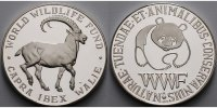 WWF Medaille<br>30,04g<br> fein<br>40 mm ...