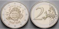 2 Euro 2012 Niederlande 10 J.Euro Bargeld, inkl.Kapsel & Zerti. & Etui ... 78,00 EUR  zzgl. 5,00 EUR Versand