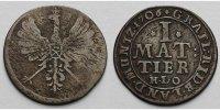 Mattier 1/2 Mariengroschen1/72 Taler 1706 Rietberg, Grafschaft Maximili... 179,00 EUR  + 17,00 EUR frais d'envoi