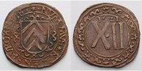 12 Pfennig 1621 Ravensberg-Grafschaft Brandenburgische Regierung 1614-1... 95,00 EUR  zzgl. 5,00 EUR Versand