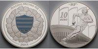 10 Euro 2011 Frankreich Rugby Racing Metro 92  mit farbiger Applikation... 61,50 EUR  + 17,00 EUR frais d'envoi