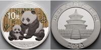 10 Yuan 2012 China China Panda, farbig stgl  64,95 EUR  + 17,00 EUR frais d'envoi