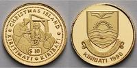10 Dollar1,24g fein13,92 mm Ø 1998 Kiribati Heilige drei Könige, inkl. ... 65,00 EUR  + 17,00 EUR frais d'envoi