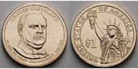 1 $ 2012 P USA Grover Cleveland / Kupfer-Nickel, Philadelphia, 22. Präs... 3,50 EUR  zzgl. 3,95 EUR Versand